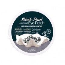 Гидрогелевые патчи под глаза с черным жемчугом Esfolio Black Pearl Hydrogel Eye Patch