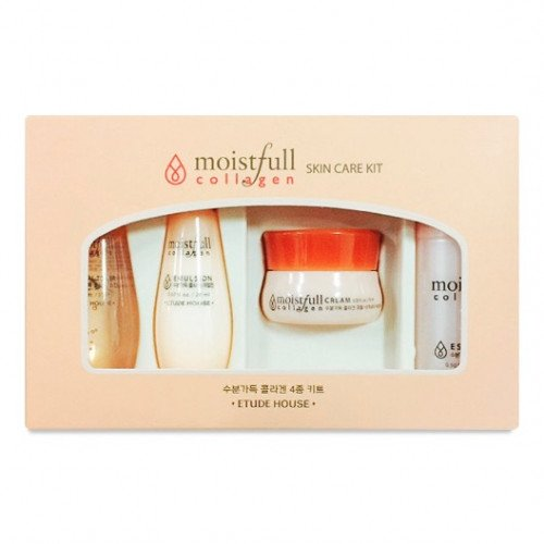 Набор миниатюр Etude House Moistfull Collagen Skin Care Kit