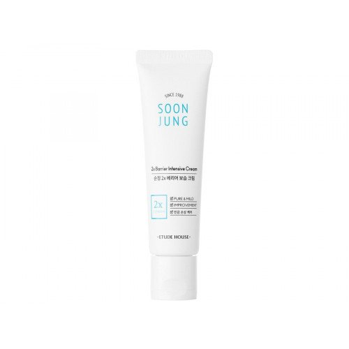 Зволожуючий і заспокійливий крем Etude House Soon Jung 2x Barrier Intensive Cream