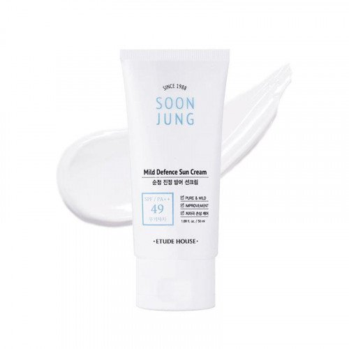Солнцезащитный крем Etude House Soon Jung Mild Defence Sun Cream SPF 49 PA++