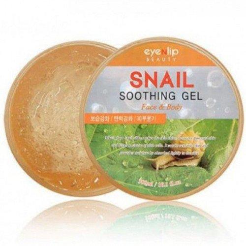 Заспокійливий равликовий гель для обличчя і тіла Eyenlip Snail Soothing Gel