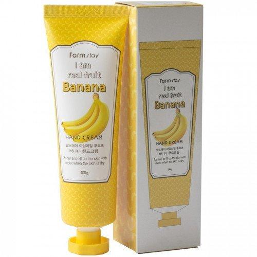 Крем для рук з экстрактом банана FarmStay I Am Real Fruit Banana Hand Cream