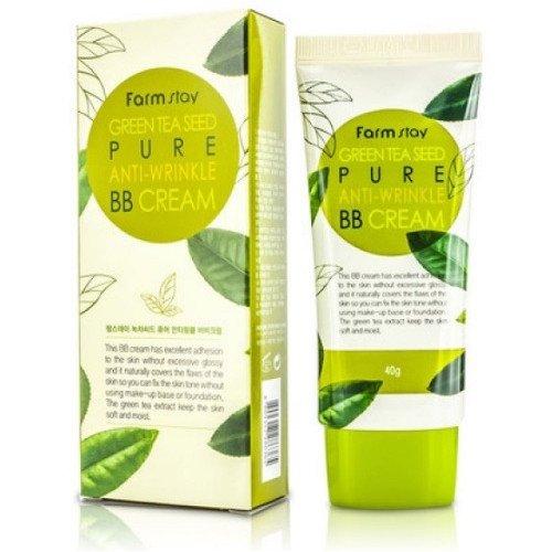 Матирующий бб крем с зеленым чаем Farm Stay Green Tea Seed Pure Anti Wrinkle BB Cream