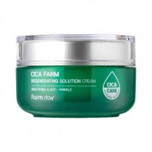 Восстанавливающий крем с центеллой азиатской FarmStay Cica Farm Regenerating Solution Cream