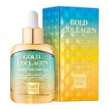 Питательная сыворотка с золотом и коллагеном Farm Stay Gold Collagen Nourishing Ampoule