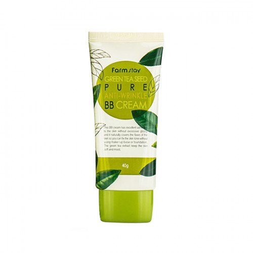 Матуючий бб крем із зеленим чаєм FarmStay Green Tea Seed Pure Anti Wrinkle BB Cream