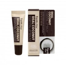 Бальзам для губ з кокосом Farmstay Real Coconut Essential Lip Balm