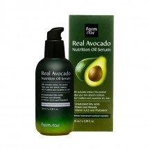 Поживна сироватка з маслом авокадо FarmStay Real Avocado Nutrition Oil Serum