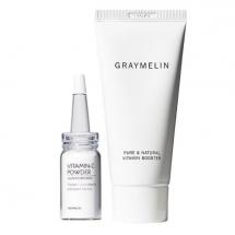 Набор из сыворотки-бустера и витамина С Graymelin Pure & Natural Vitamin Booster Set