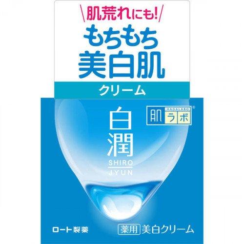 Відбілюючий крем з арбутином HADA LABO Shirojyun Medicated Whitening Cream