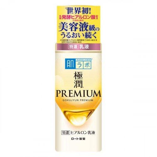Глубоко-увлажняющее молочко Hada Labo Gokujyun Premium Hyaluronic Acid Milk