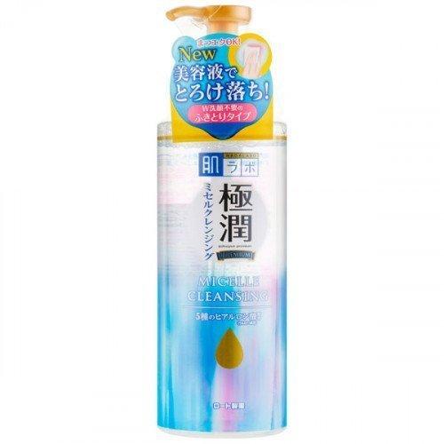 Мицеллярная вода с гиалуроновой кислотой Hada Labo Gokujyun Premium Hyaluronic Acid Micelle Cleansing