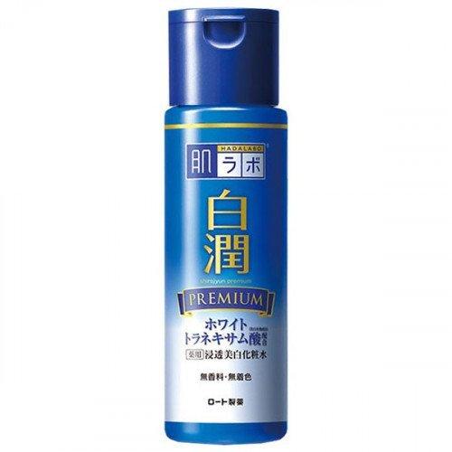 Отбеливающий лосьон с транексамовой кислотой Hada Labo Shirojyun Premium Medicated Whitening