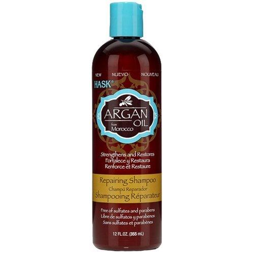 Восстанавливающий безсульфатный шампунь с аргановым маслом Hask Argan Oil Reparing Shampoo