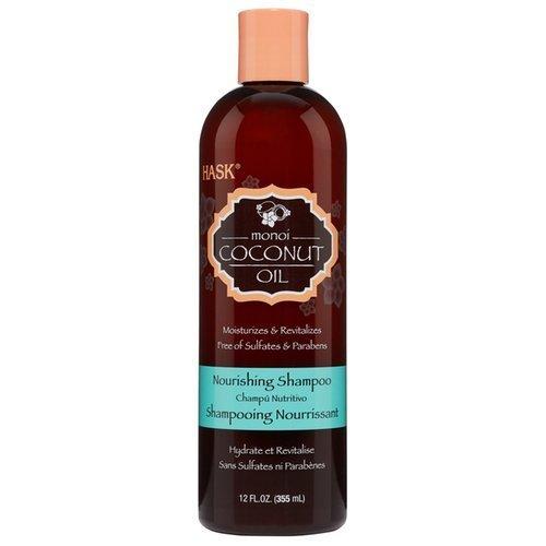 Питательный безсульфатный шампунь с кокосовым маслом Hask Monoi Coconut Oil Nourishing Shampoo