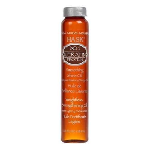 Масло для волос с кератином и протеинами Hask Keratin Protein Smoothing SHINE® Oil