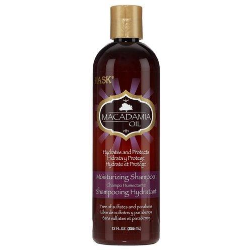 Увлажняющий безсульфатный шампунь с маслом макадамии Hask Macadamia Oil Moisturizing Shampoo