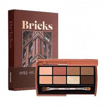 Палетка теней HEIMISH Dualism Eye Palette Brick Brown