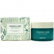 Глубоко-увлажняющий крем с ферментированным экстрактом водорослей Heimish Marine Care Rich Cream