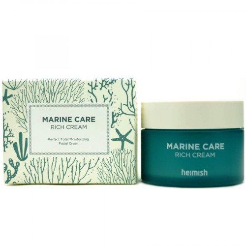 Глибоко-зволожуючий крем з ферментованим екстрактом водоростей Heimish Marine Care Rich Cream