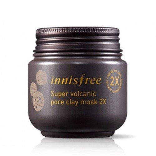 Очищающая маска Innisfree Super Volcanic Pore Clay Mask 2X