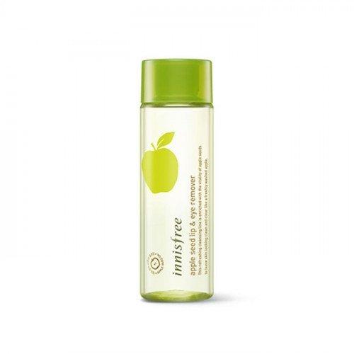 Двухфазная жидкость для снятия макияжа с глаз и губ Innisfree Apple Juicy Lip & Eye Remover Miniature