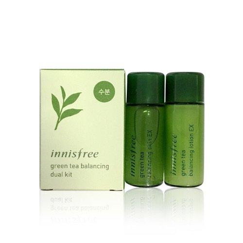 Набор миниатюр Innisfree Green Tea Balancing Dual Kit