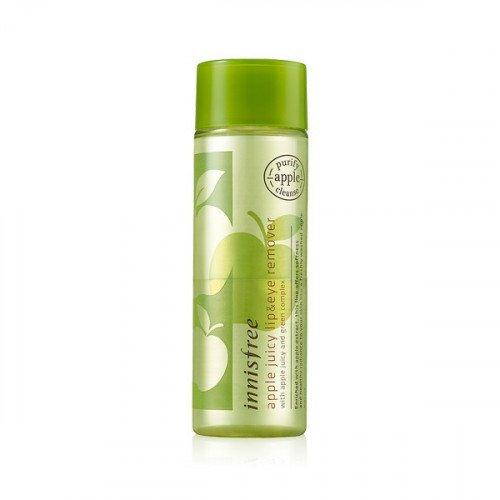 Двухфазная жидкость для снятия макияжа с глаз и губ Innisfree Apple Juicy Lip & Eye Remover