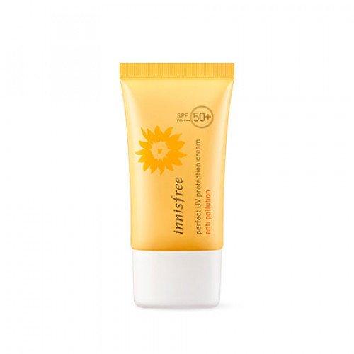 Водостойкий солнцезащитный крем Innisfree Perfect UV Protection Cream Anti Pollution SPF50+ PA++++