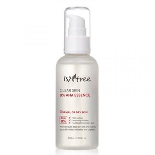 Есенція для відновлення шкіри Isntree Clear Skin 8% AHA Essence