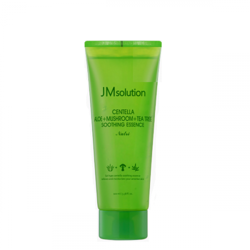 Заспокійлива гелева есенція JMsolution Centella Aloe + Mushroom + Tea Tree Soothing Essence