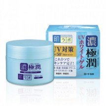 Увлажняющий гиалуроновый гель с защитой от солнца Hadalabo Koi Gokujyun UV White Gel SPF50+/PA++++
