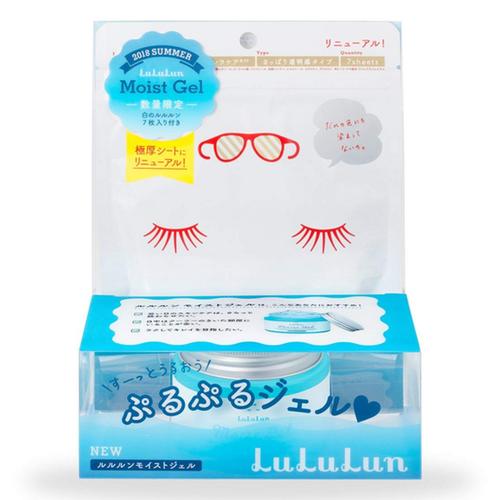 Набор увлажняющий гель Lululun Moist Gel + 7 масок для лица Lululun