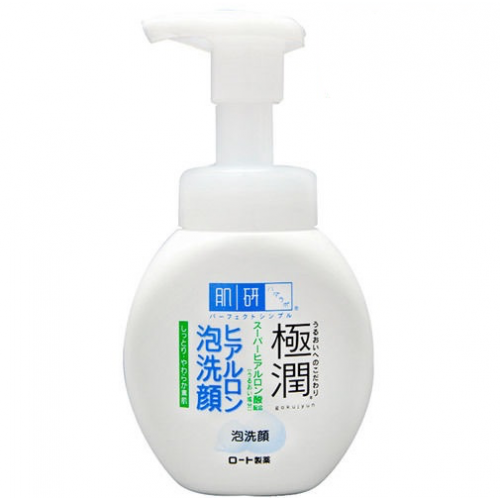 Мусс для умывания с супергиалуроновой кислотой Hada Labo Gokujyun Super Hyaluronic Acid Foaming Wash