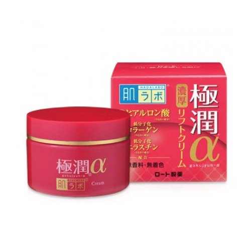 Лифтинг крем Hada Labo Gokujyun Alpha Moist Lift Cream