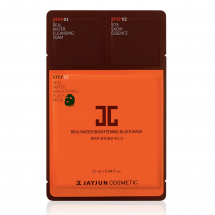 Трёхшаговый набор для восстановления кожи JayJun Real Water Brightening Black Mask