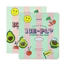 Гидрогелевая маска для лица с вишней и авокадо KOELF Cherry & Avocado Ice-Pop Hydrogel Face Mask