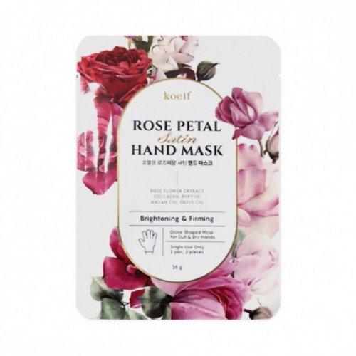 Маска-перчатки для рук Koelf Rose Petal Satin Hand Mask