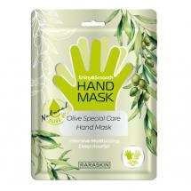 Поживна маска для рук з маслом оливи Raraskin Olive Special Care Hand Mask