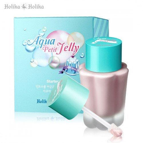 Перламутровая база под макияж Holika Holika Aqua Petit Jelly Starter