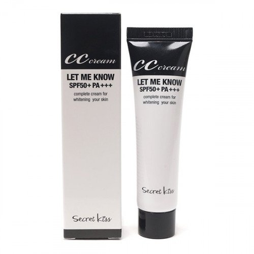 Secret Key Secret Kiss Let Me Know СС Cream SPF50/PA+++