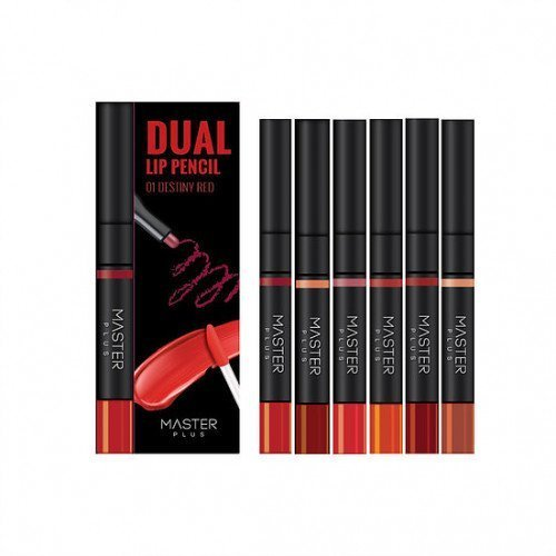 Двусторонний карандаш и тинт для губ Master Plus Dual Lip Pencil