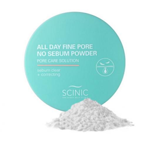 Рассыпчатая матирующая пудраScinic All Day Fine Pore No Sebum Powder
