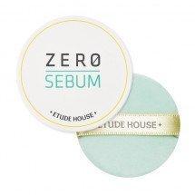 Бесцветная матирующая минеральная пудра Etude House Zero Sebum Drying Powder