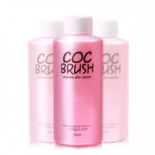 Средство для очищения кистей с кератином Coringco COC Brush Cleanser With Keratin