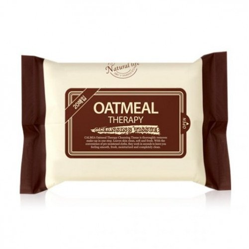 Очищающие салфетки Calmia Oatmeal Therapy Cleansing Tissue