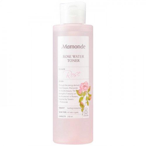 Увлажняющий тонер на розовой воде Mamonde Rose Water Toner