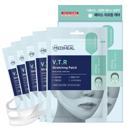 Набор масок для контура лица Mediheal VTR V-line Stretching Patch Set