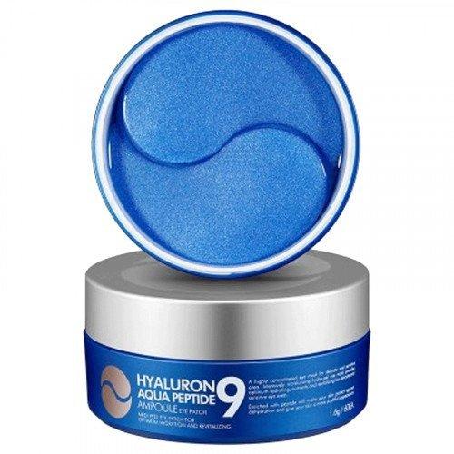Увлажняющие гиалуроновые патчи с пептидами MEDI-PEEL Hyaluron Aqua Peptide 9 Ampoule Eye Patch