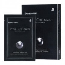 Зміцнююча маска з перлами і колагеном MEDI-PEEL Pearl Collagen Firming Glow Mask